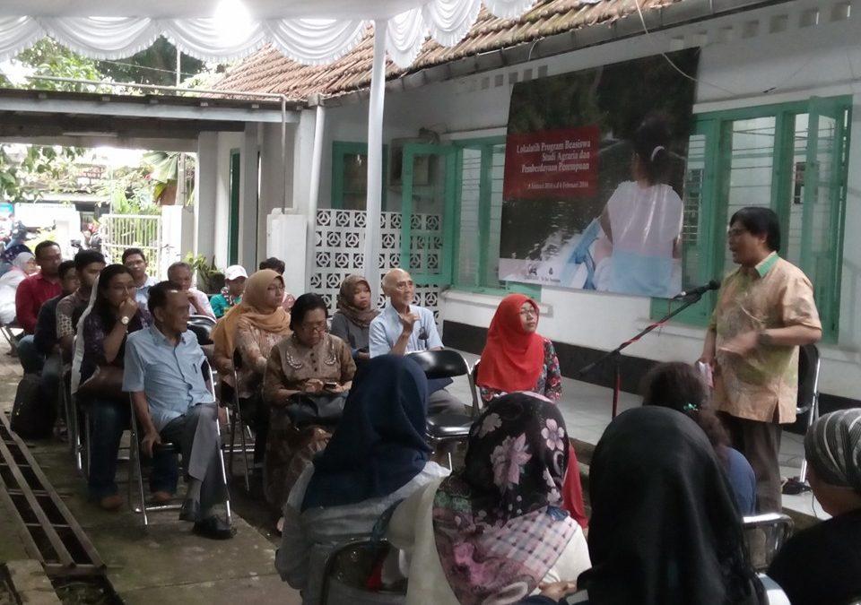 Protected: Peluncuran Beasiswa Studi Agraria dan Pemberdayaan Perempuan